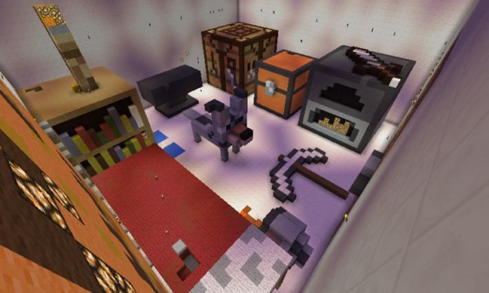 скачать карту для Minecraft прятки - фото 9