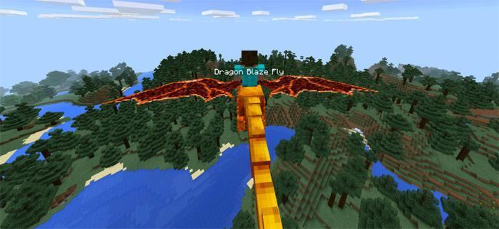 Летящий верхом на драконе Стив