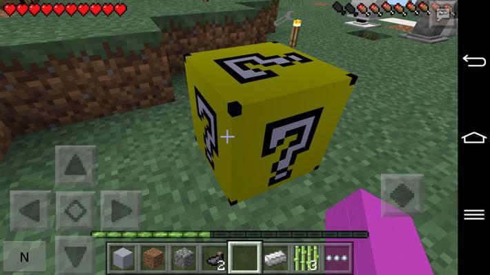 Желтый лаки блок