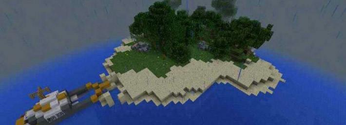 Скачать карту для minecraft остров выживания скачать карты на.