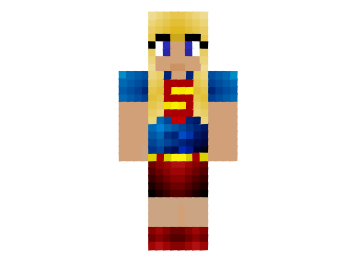 Super-girl-kara-zore-skin