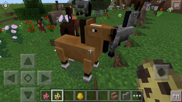 Коричневая лошадь в 0.14.0