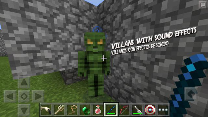 Зеленый гоблин в Майнкрафте