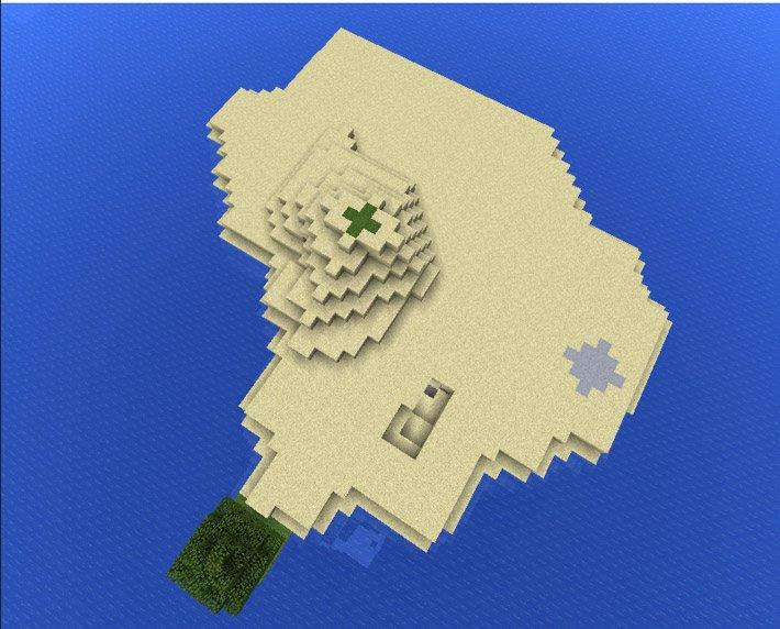 Остров посреди океана