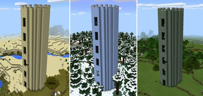 3 вида боевых башен