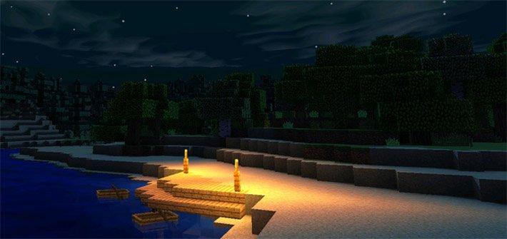 Новое и улучшенное освещение от факелов в игре