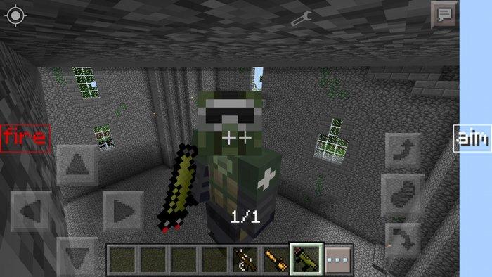 Мод оружие для Minecraft PE для Minecraft - Скриншот 2