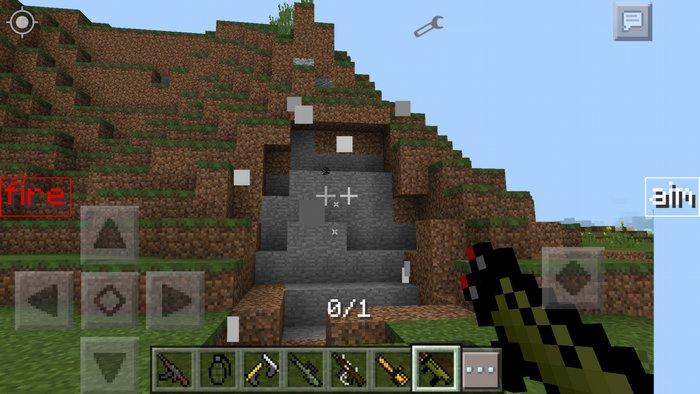 Мод оружие для Minecraft PE для Minecraft - Скриншот 1