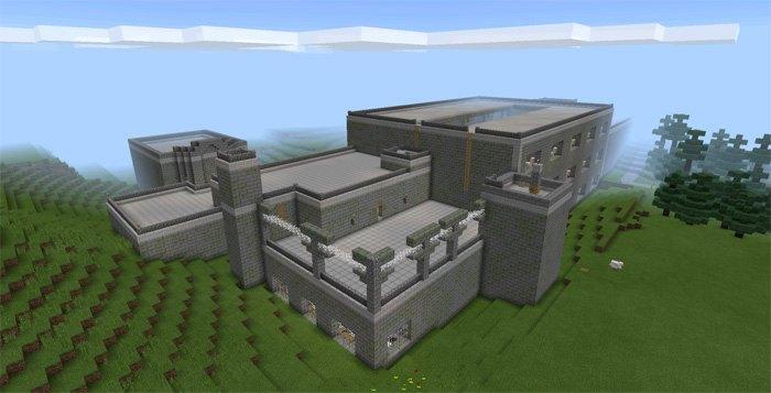 Вид на тюрьму снаружи