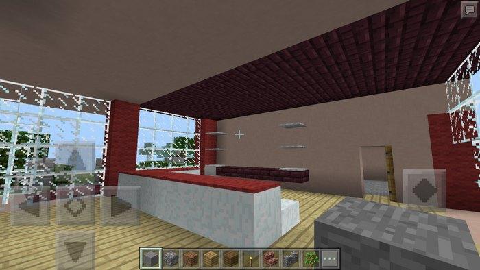 Так выглядит бар, который находится внутри дома