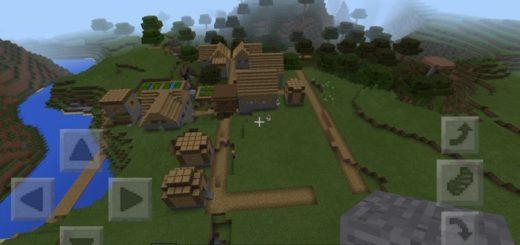 Первая деревня, которая находится совсем близко к спавну
