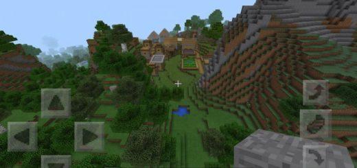 Скрытая от посторонних глаз деревня