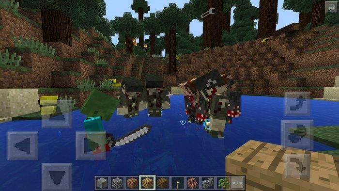 Новые виды зомби ловят жертву в воде