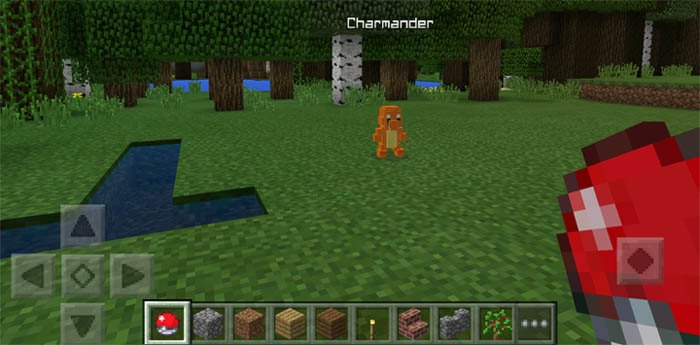 Чармандер в мире Майнкрафт