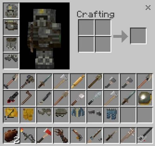 Все новые предметы из мода на Fallout