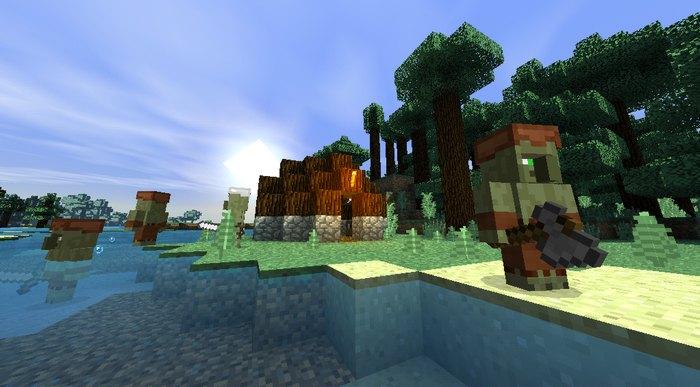 Небольшое поселение гоблинов