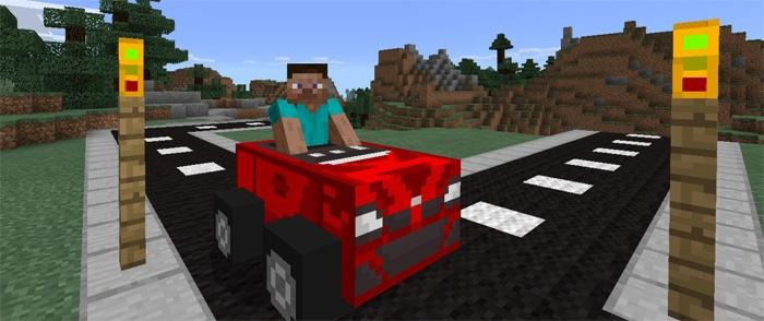 Красная машина, Стив за рулем