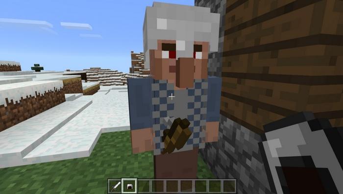 Рыцарь охраняющий деревню с помощью лука