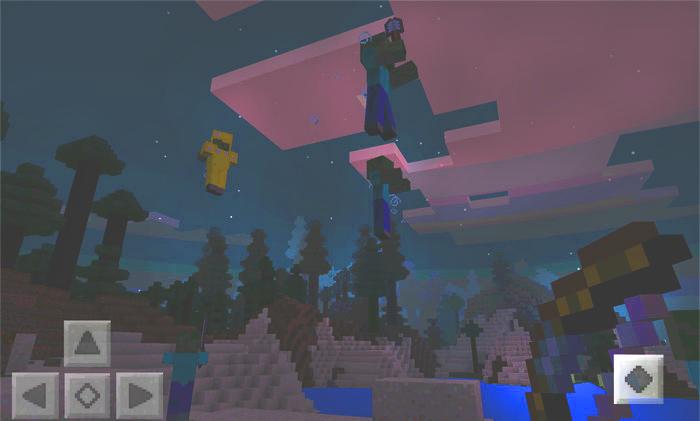 Мобы будут взлетать в воздух очень высоко - как эти зомби