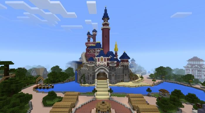 Замок Диснейленда
