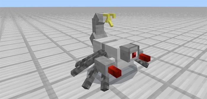 Боевой робот скорпион