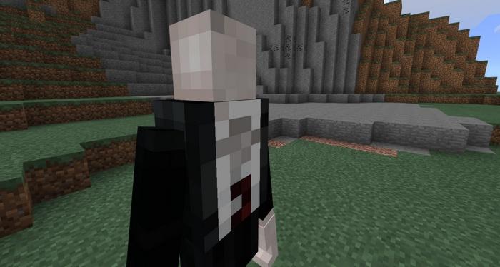 Слендермен в костюме