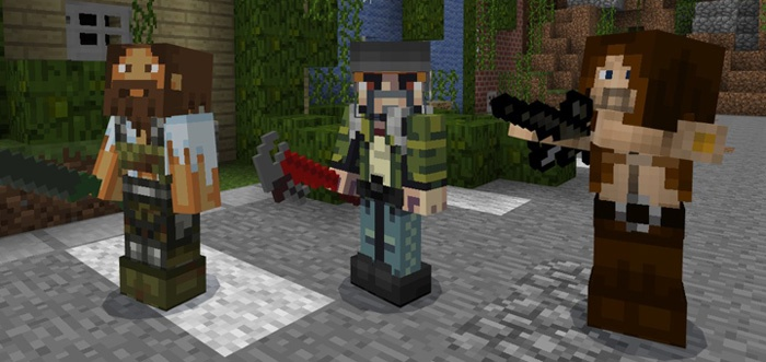 Мод добавляет оружия, броню и новых мобов