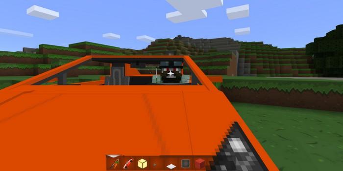 Игрока за рулем машины