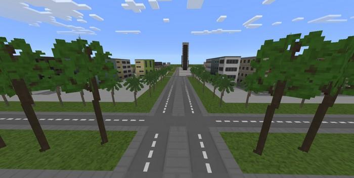 Скачать карту на майнкрафт мини город