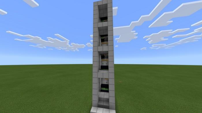 скачать карту с лифтом в майнкрафте #9