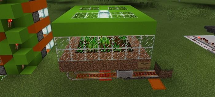 Автоматическая ферма по выращиванию пшеницы