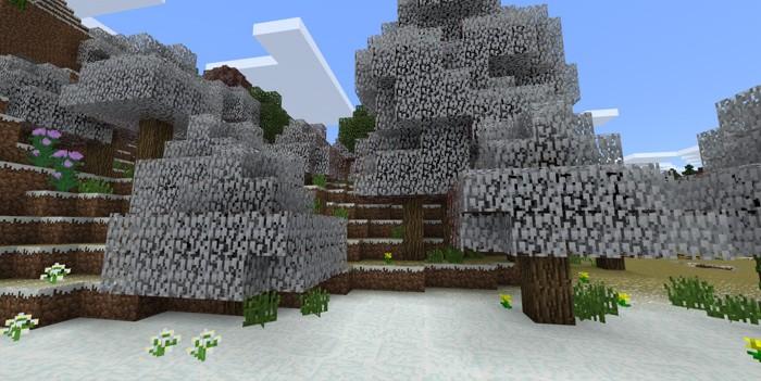 Зима в Майнкрафт