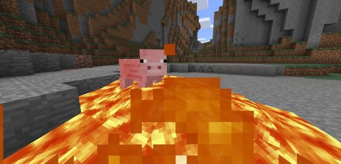 Свинья, которая не горит в огне