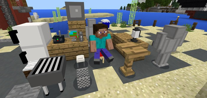 Мебель в Майнкрафт ПЕ