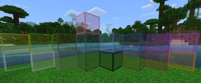 Упрощение текстур стекла для увеличения ФПС в Майнкрафте