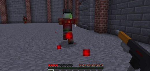 Стрельба по зомби из автомата