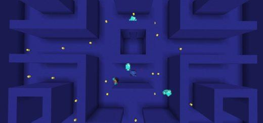 Воссоздание игры Пакман в Майнкрафте