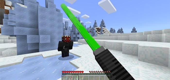 Зеленый световой меч