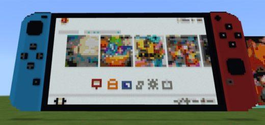приставка Nintendo Switch в Minecraft PE