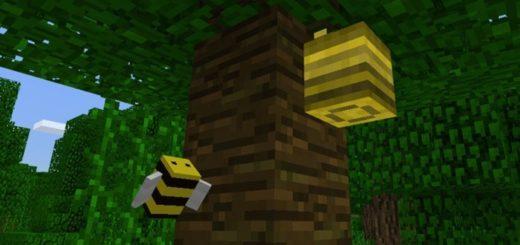 Пчелы в Minecraft