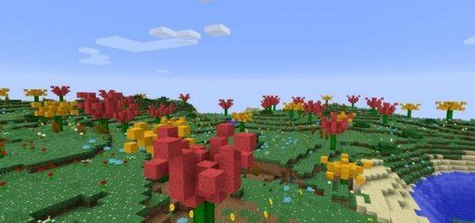 Биом с цветными деревьями