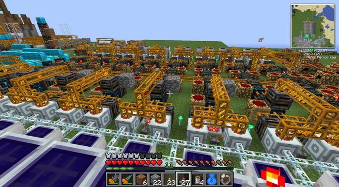Фабрика из мода Buildcraft
