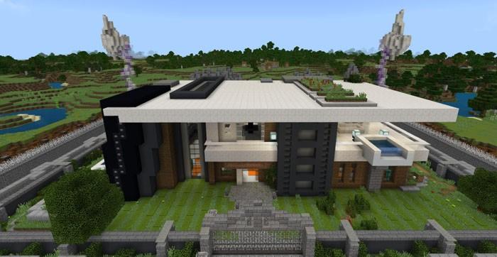 Самый безопасный дом в истории Майнкрафт