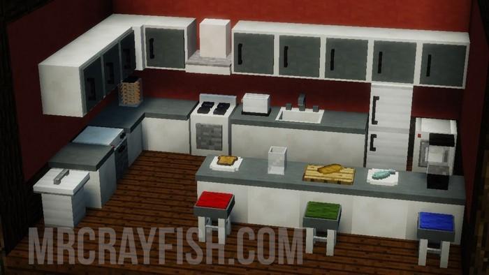 Кухня с мебелью