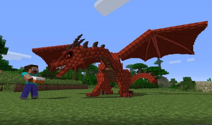 Большой красный дракон