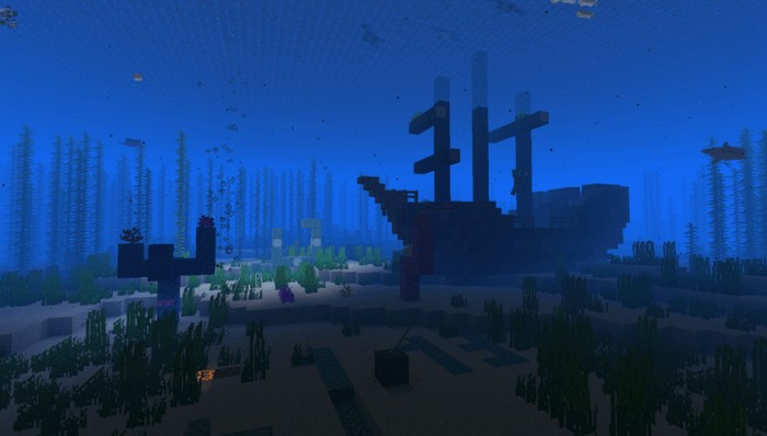 Обломки кораблей